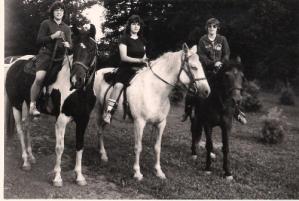 Horses: Susie, Snowball, Rex