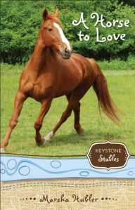 Keystone Stables Book One Meet Skye and Champ, her horse.