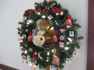 My Horse Facts Christmas Wreath