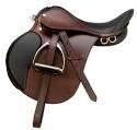 western saddle (englilsh saddle)