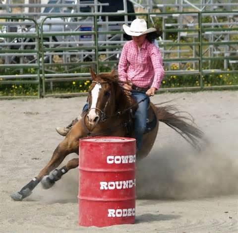 Barrel racing 1 for Where can i go horseback riding near me