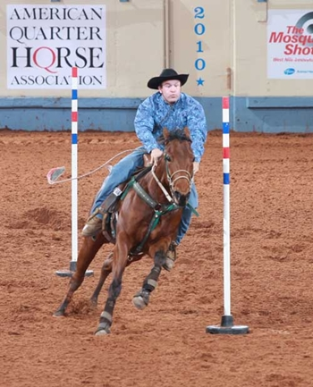 Today s horse facts pole bending and barrel racing review for Negative show pool horse racing